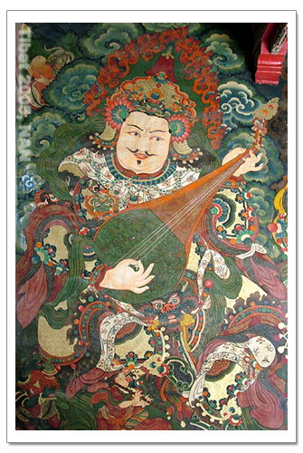 ...布达拉宫   西藏旅游   藏行记之拉萨:布达拉宫壁画   简体中...
