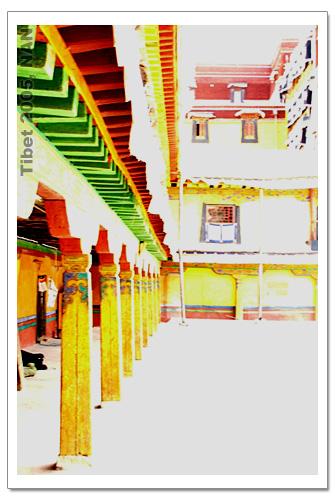 ...布达拉宫壁画   西藏旅游   藏行记之拉萨:布达拉宫一角2   ...