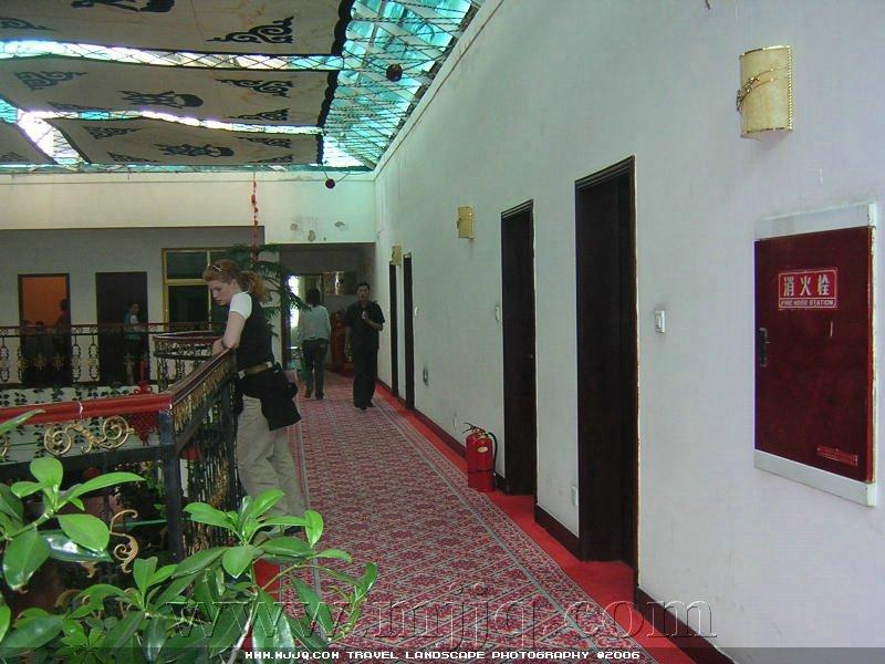 賽康大酒店走廊