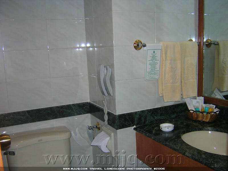 拉薩飯店房間衛生間