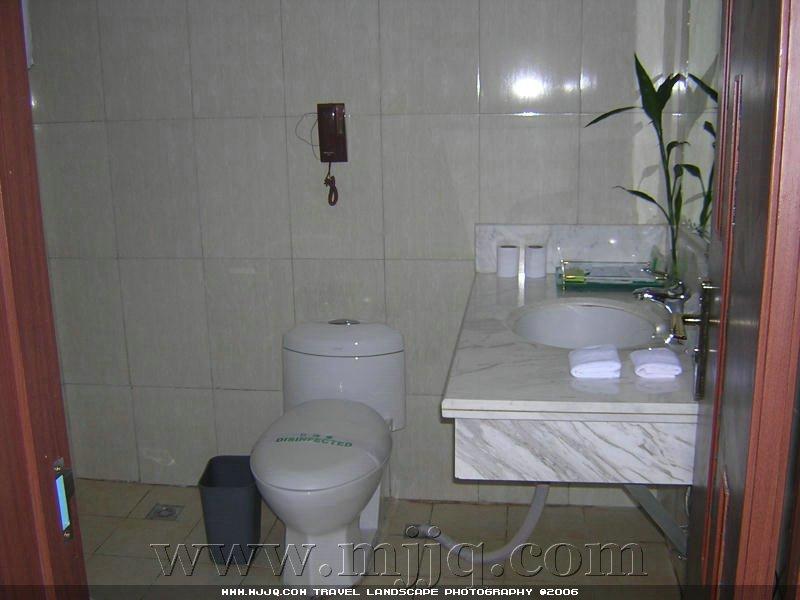 世紀酒店房間衛生間