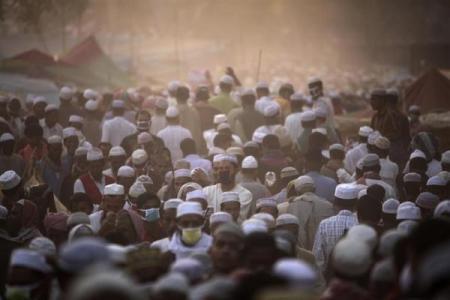 圖片:世界最擁擠的國家-孟加拉國