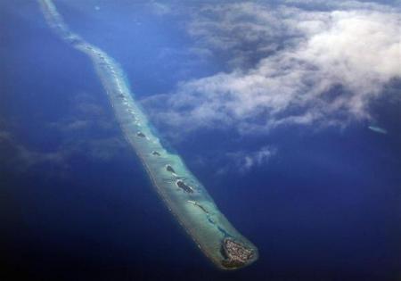 圖片:世界最擁擠的國家 - 馬爾代夫