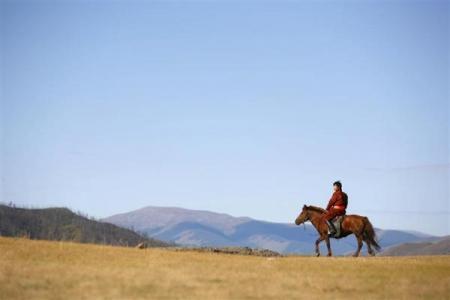圖片:世界最不擁擠的國家 - 蒙古