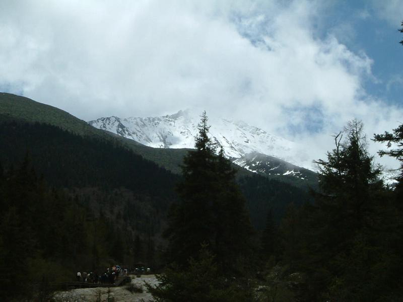 照片:雪山