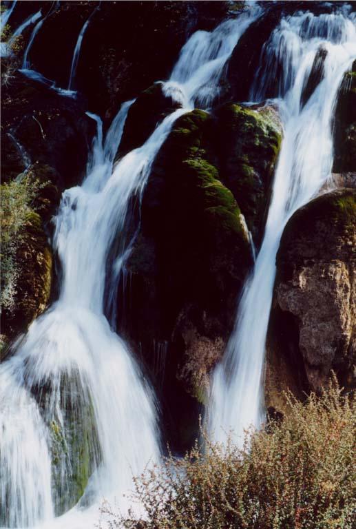 照片:树正瀑布2