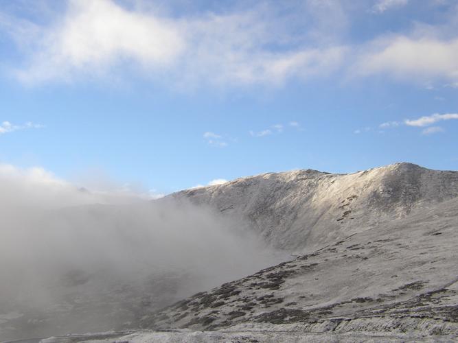 照片:黄龙雪岭