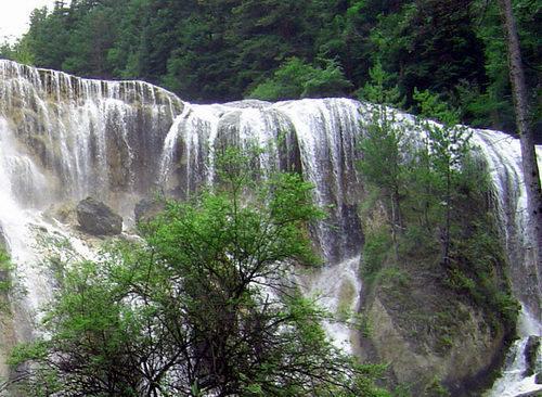 照片:九寨-瀑布5