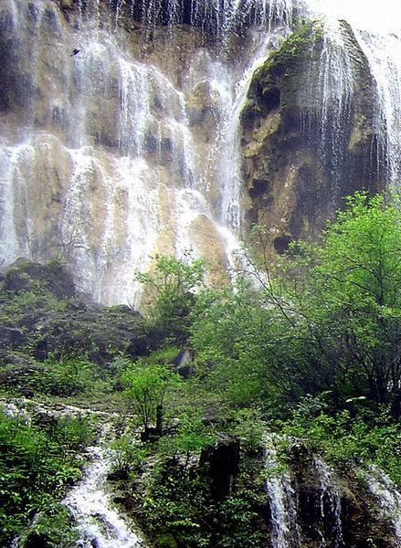 照片:九寨-瀑布2