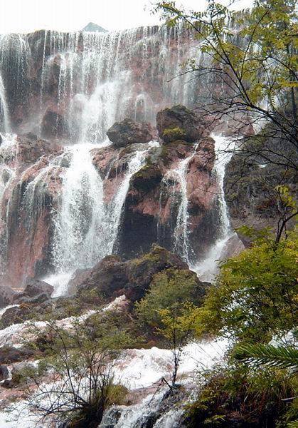照片:九寨-瀑布3