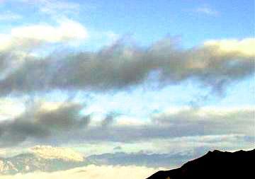 照片:九寨-雪山
