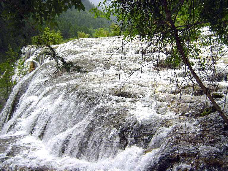 照片:九寨-珍珠滩瀑布2