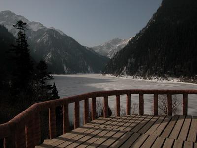 照片:九寨的冬天-长海