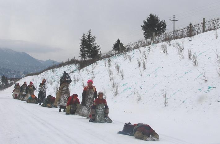 照片:冬季九寨-冰雪童话17-转山