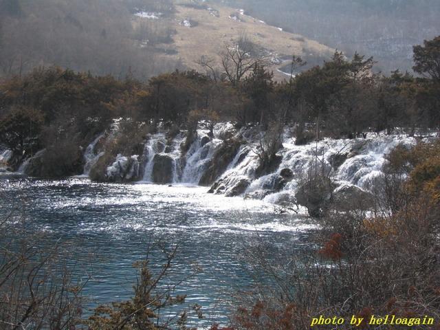 照片:九寨沟:三叠瀑布2