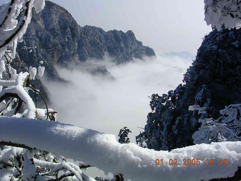 照片:四川冬景3