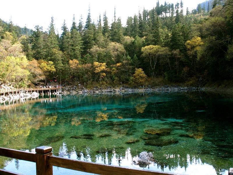 照片:九寨沟的水-五彩池2