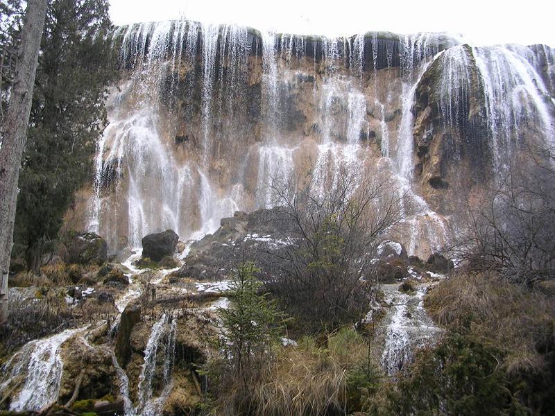 照片:九寨沟的瀑布2