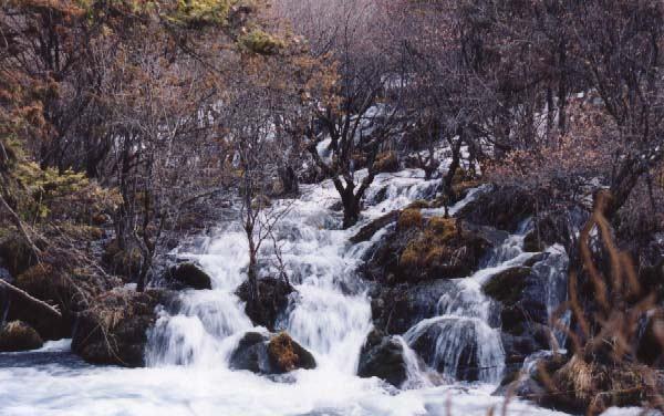 照片:流水
