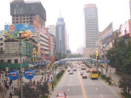 照片:成都街景