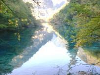 照片:九寨的水