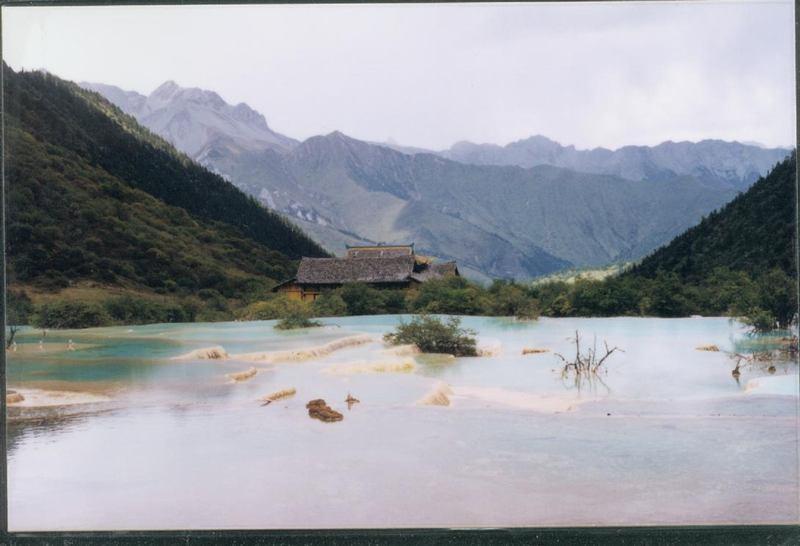 照片:九寨全景
