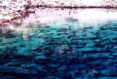 照片:五彩池