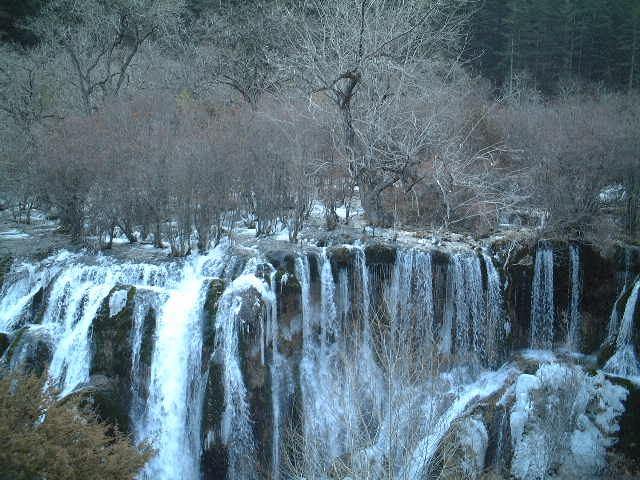 照片:美丽的九寨沟