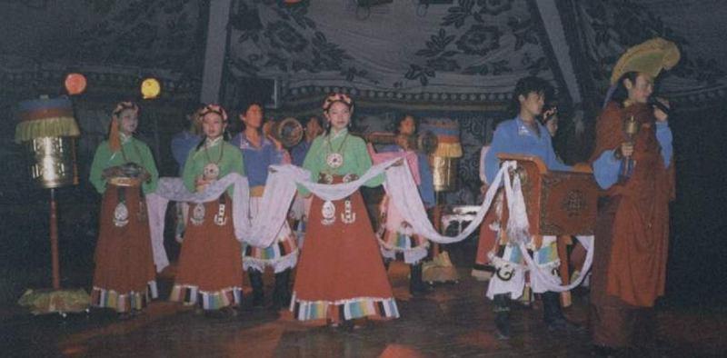 照片:藏羌文化