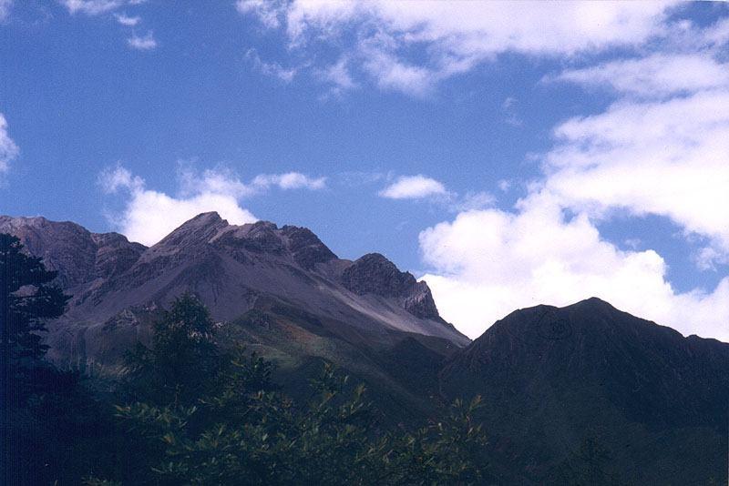 照片:高原的天