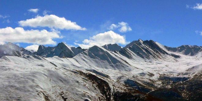 照片:过雪山
