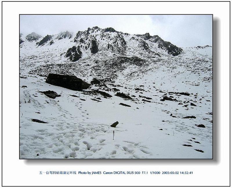 照片:五一自驾康巴环线04-满山白雪