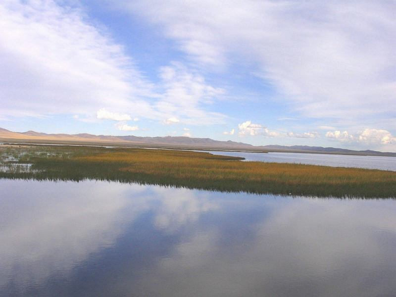 照片:川北踏秋(3)若尔盖之湖光草色
