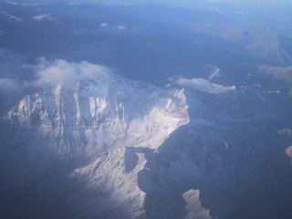 照片:俯看雪宝顶