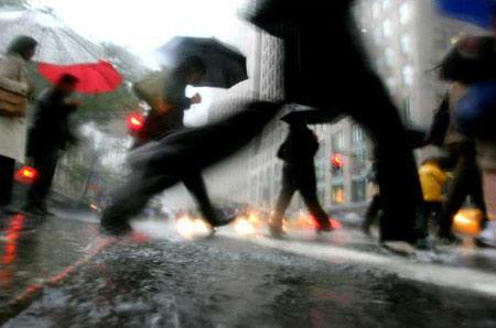 圖文:紐約的傾盆大雨