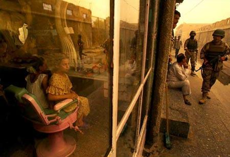 圖文:伊拉克特色的國土安全