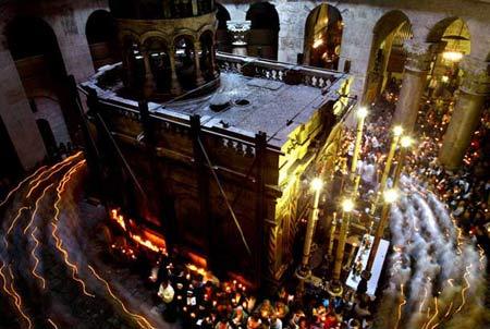 圖文:耶路撒冷的復活節遊行