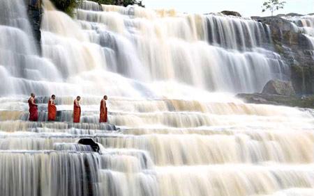 圖文:越南達拉的僧侶