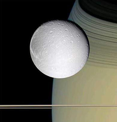 圖文:NASA卡西尼號探測器拍攝到土衛四照片