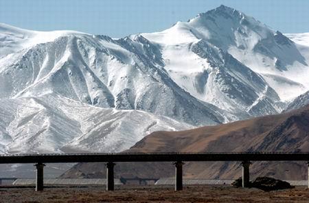 組圖:沿青藏鐵路看雪域風光