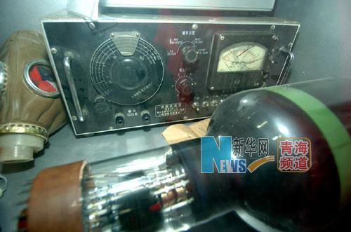 這是原子城的科研工作者當時使用的部分科研工具