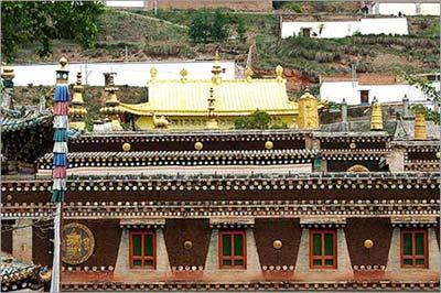 藏傳佛教黃教聖地的塔爾寺