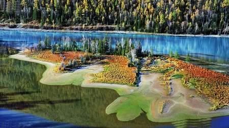 科技時代_探險聖地評選:喀納斯湖-冰川的鬼斧神工