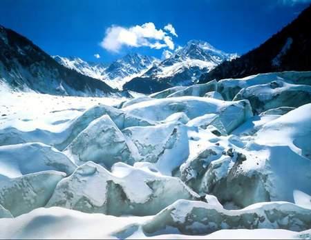 科技時代_探險聖地評選:海螺溝冰川-最易進入的低海拔冰川