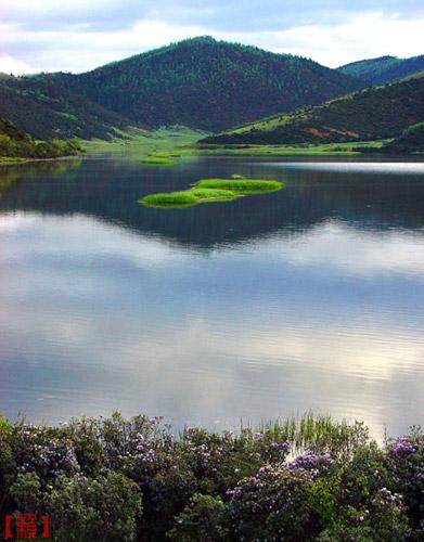 春到屬都湖