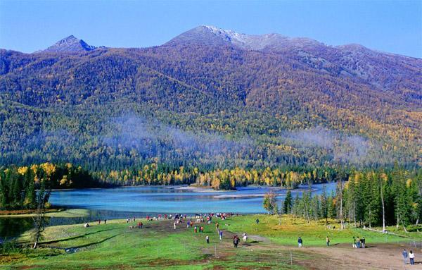 新疆旅遊自拍-喀納斯