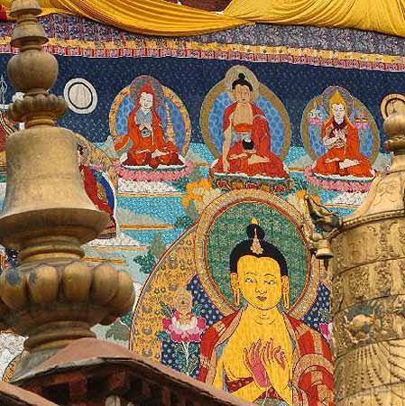 組圖:拉薩雪頓節展示藏文化精粹