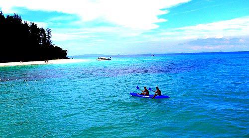泰國皮皮島美色 熱帶的誘惑