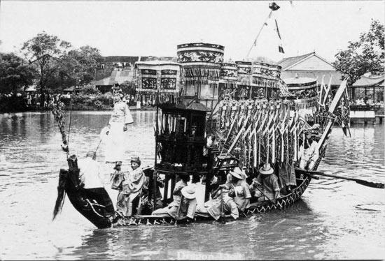 劃龍船 漢布河