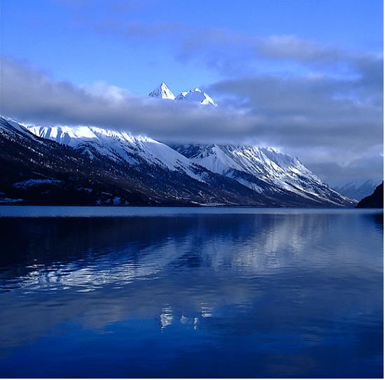 西藏然烏湖風景
